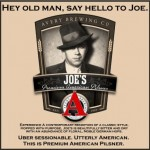 Avery Brewing News:  Joe&#8217;s Premium American Pilsner and New Packaging