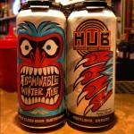 Beer Advent Calendar – Day 24: Hopworks Abominable Winter Ale presented by Beaver State Beer
