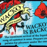 Wacko is Backo – Magic Hat – Beet Inspired Ale