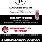 Narragansett Month at Tamworth Lyceum (NH)