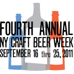 New York City Beer Week has begun, Sept 16 – 25 (NY)