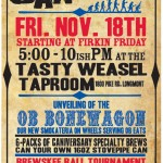 Beer Event:  Oskar Blues Caniversary 11/18 (CO)