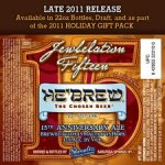 Beer Advent Calendar – Day 20: He'Brew Jewbelation 15 presented by Amber