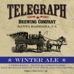 Beer Advent Calendar  Day 19: Telegraph Winter Ale presented by Zachary Rosen