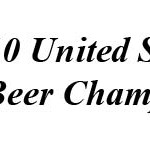 2010 U.S. Open Beer Championship Results 
