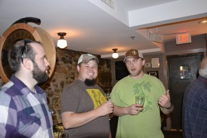 Sean & Brian (Seacoast Beverage Lab) with Tyler at Portsmouth Brewery