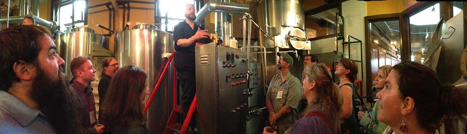 My first tour of Portsmouth Brewery, one of my favorite hangouts. Thanks JT!