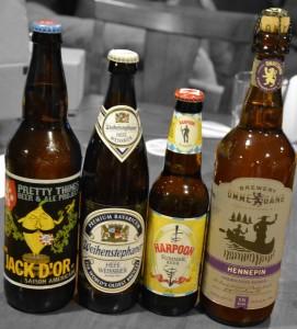 summer beers lineup