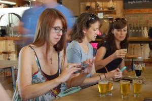 @NashBeerGirl @CraftBeerHound practicing their social media skills