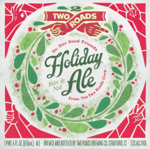 Two-Roads-Holiday-Ale-label