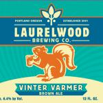 Day 3: Laurelwood Vinter Varmer Brown Ale by D J Paul