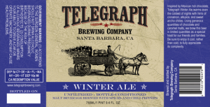 telegraph winter label