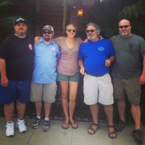 Brewdad, Ryan, Amber, Jeff and Craig at Coronado Brewing