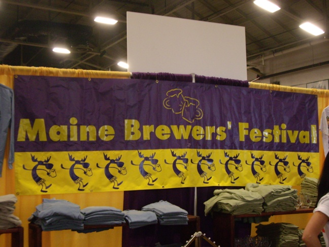 2007 Maine brewers Fest - Welcome