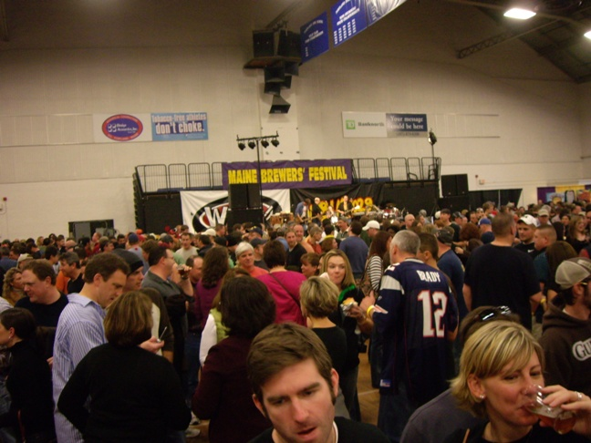 2007 Maine Brewers Fest - Crowd