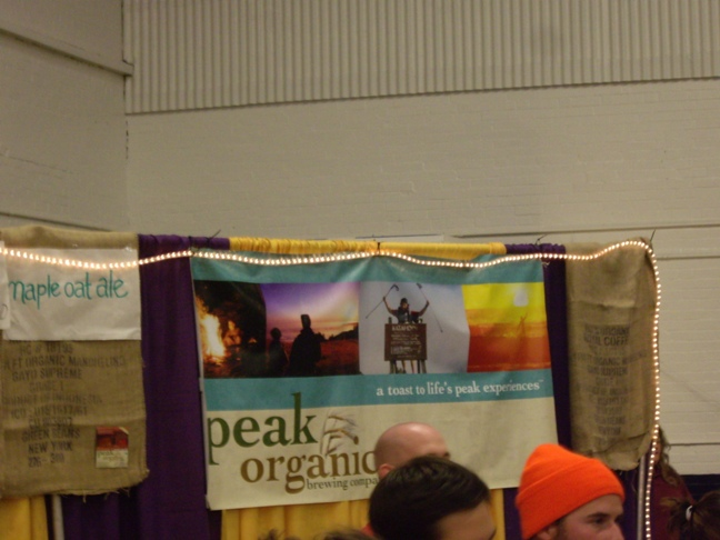 2007 Maine Brewers Fest - Peak Organic Brewing Company