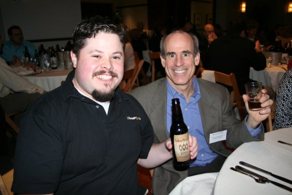Mass Ultimate Beer Dinner - Sean and Drew (from Mayflower)