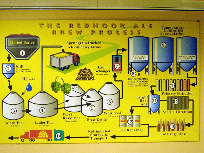 Redhook - Basic Brewing Process