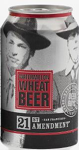 21st Amendment Hell or High Watermelon Wheat